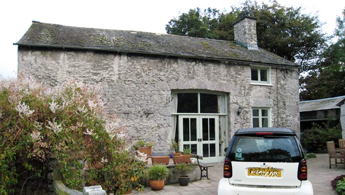 Cumbrian barn before extension work